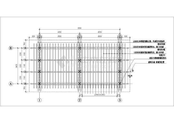 脚手架搭设cad图_90米烟囱内部脚手架搭设施工方案
