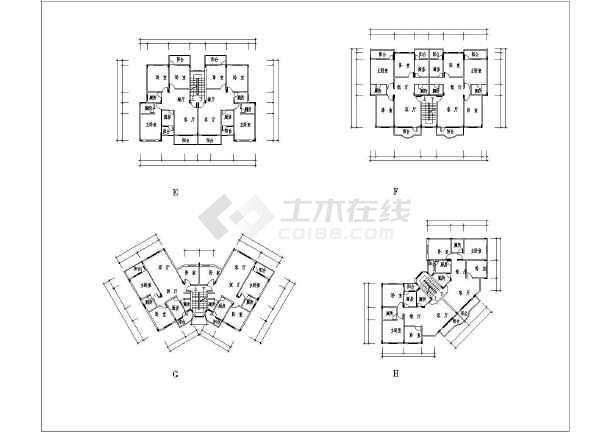 图纸建筑平面规划图小区规划某地住宅小区规划设计总图纸布置图与超市装修六合无绝对片图片