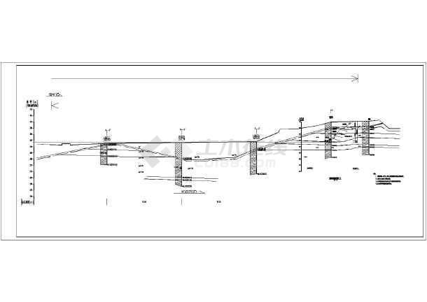 立即下载  收藏此图纸 简介:本图为某市路堑工程边坡防护网架结构布置