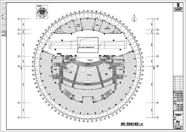 宜春剧场施工图091214室内装修设计图_cad图纸下载