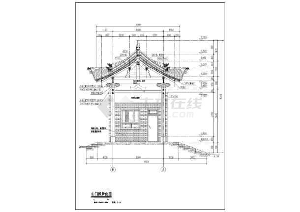 宝塔,碑亭,亭子古建筑修缮设计图纸