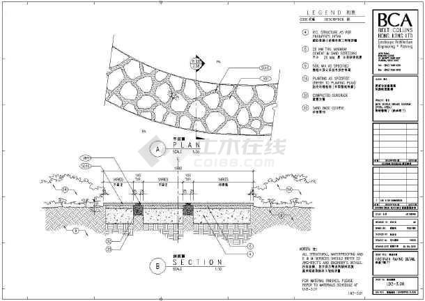 一些人行步道铺装的景观设计详图纸_cad图纸下载-土木