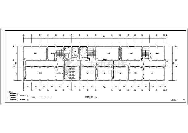 【山东】某学校教学楼电气施工图设计