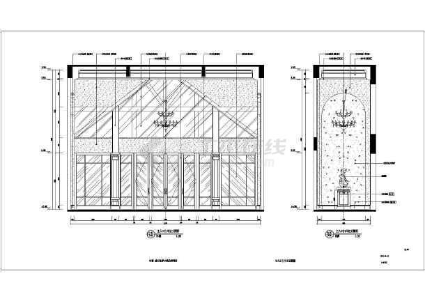 【长春】益田瓦萨北欧风小镇售楼处全套设计施工图-图1