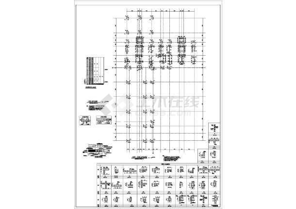 28层剪力墙住宅建筑,结构施工图_cad图纸下载-土木