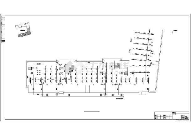 【湖南】某酒店式公寓给排水设计图纸-图2