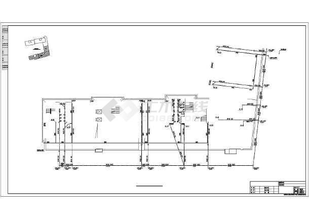 【湖南】某酒店式公寓给排水设计图纸-图3