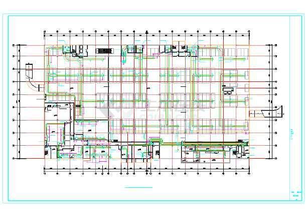 【山西】某商场系统通风空调设计皮箱手工制作图纸图纸图片