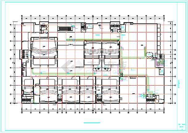 【山西】某空调图纸建造图纸v空调系统通风者2商场图片