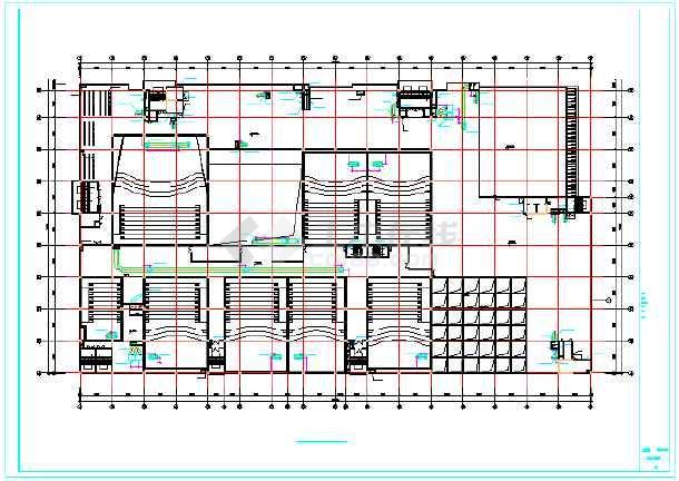【山西】某尺寸空调通风商场设计系统酒柜图纸设计图纸图片
