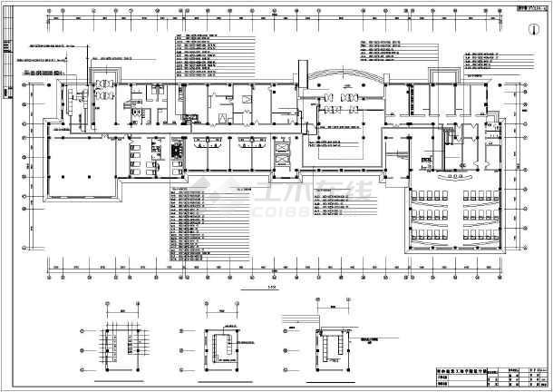 【南通市】某七中教学楼改造维修电气设计方案图