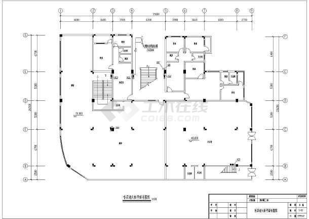 九层综合商住大楼消火栓cad设计施工图(该建筑有3座)-图2