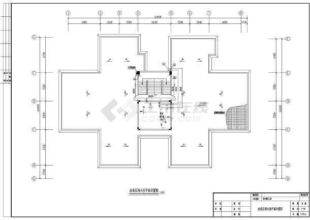 九层综合商住大楼消火栓cad设计施工图(该建筑有3座)-图3