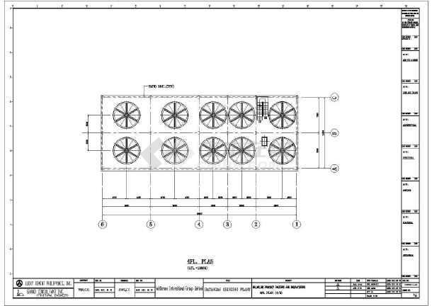 一套厂房全套钢结构v厂房多层(工具cad、英文版cad全图纸屏图片