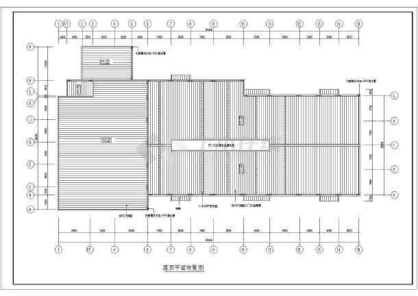 包括建筑平面图,屋顶平面布置图,立面图,剖面图,结构设计说明,钢柱