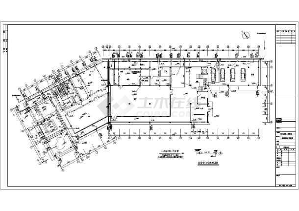 某地日企四层集体宿舍给排水设计施工图