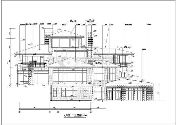 800米,图纸包括:地下室平面,首层平面,二层平面,三层平面  ,屋顶平面
