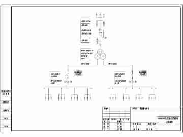 35kv光伏发电用箱式变电站设计图纸图片
