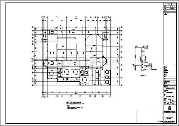 深圳观澜高尔夫别墅结构设计施工图