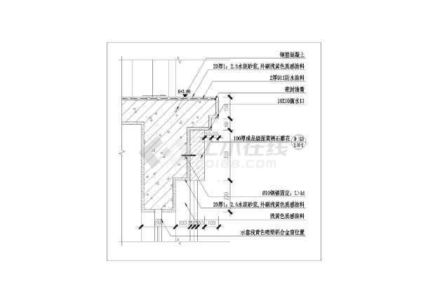 非常详细的欧式电路小区亭施工图图纸_cad图先锋210图纸门卫图片