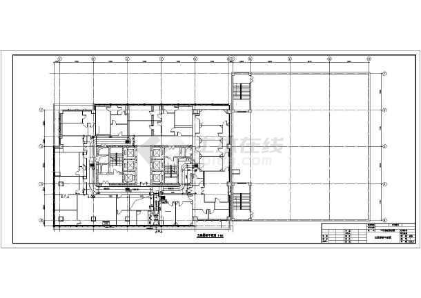 某医院实验室洁净空调改造项目全套设计图纸(cad图纸下载)图片