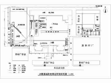某施工现场塔吊建筑设计方案(学生课题)