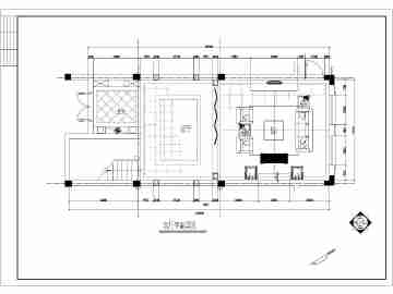 某套2层框架结构别墅欧式室内装修施工图纸