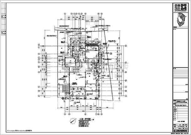 【江西】中源绿湖城一期别墅建筑施工图-图2