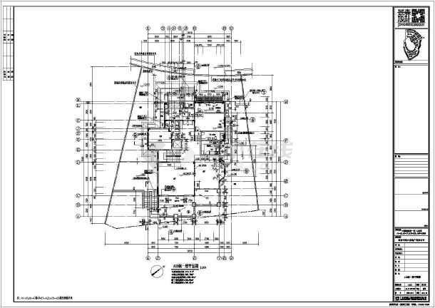【江西】中源绿湖城一期别墅建筑施工图-图3