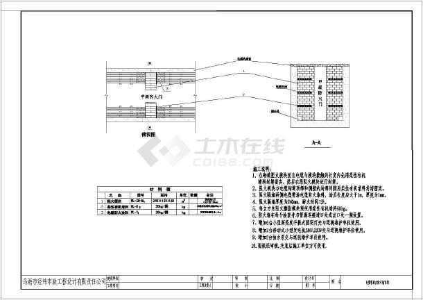 5米宽地下电缆管廊详细施工图_cad图纸下载-土木