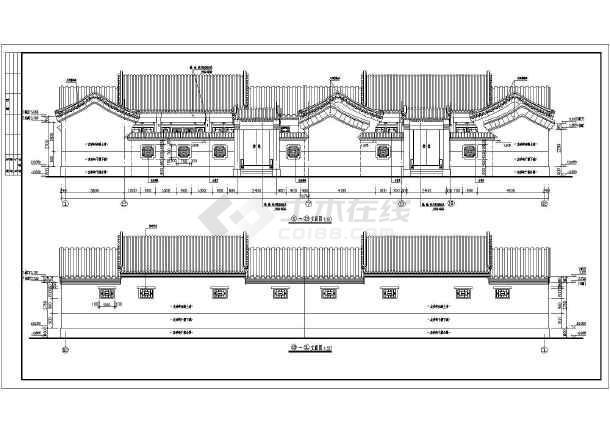 所属分类:仿古建筑 古建筑设计 建筑图纸