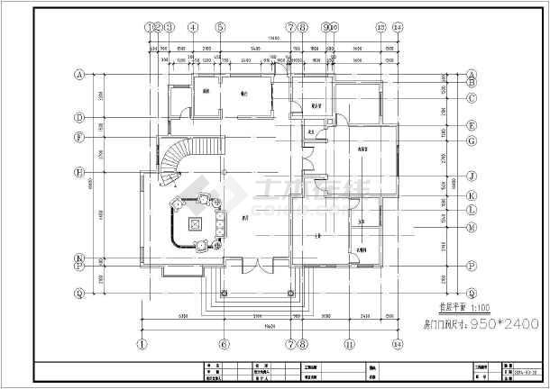 【湖南】自建农村别墅景观平面图效果图