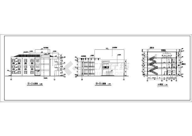 幼儿园建筑扩初设计图纸