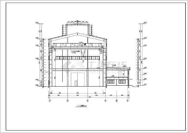 50吨重级吊车炼钢厂房结构设计施工图