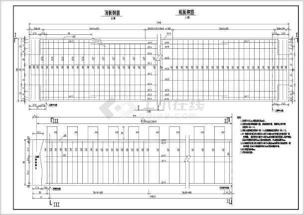 空心板)结构钢筋图