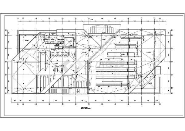 某企业2层混凝土框架结构食堂建筑设计方案