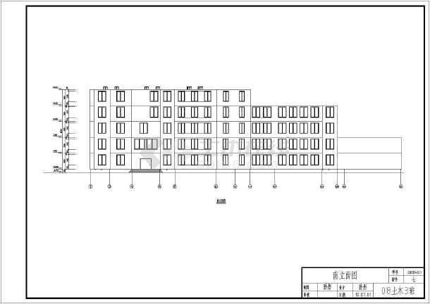 包括建筑设计说明,各层平面图,各房间平面图,教室及卫生间详图,楼梯间图片