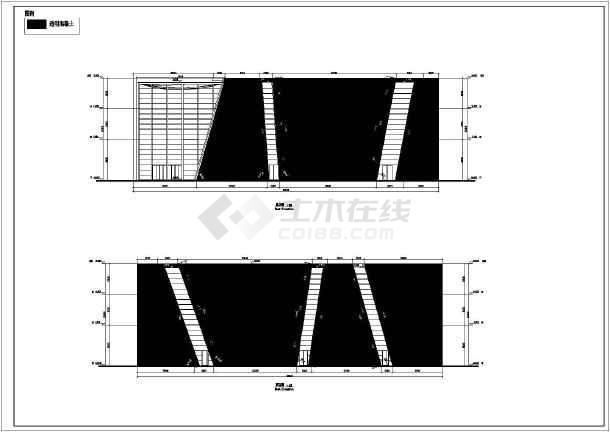 图纸 建筑图纸 展览建筑 展览馆设计 上海世博会3层钢结构意大利馆