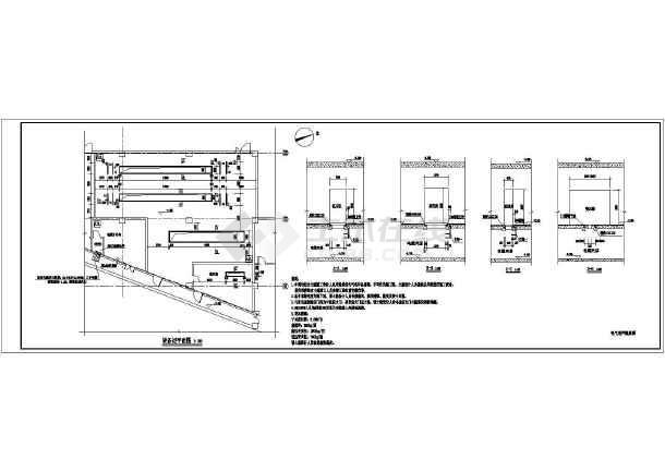 典型10kv变配电室平面图及一次图设计