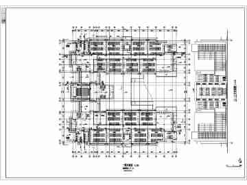 某5层教学楼给排水消防平面图部分详图