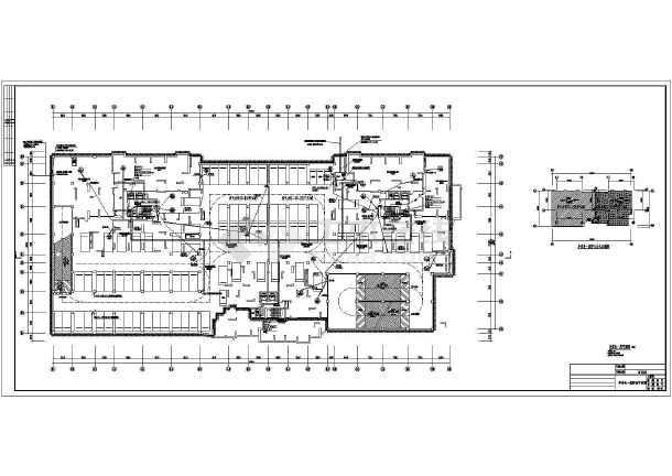 别墅施工图纸地下