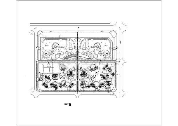建筑工地消防布置平面图