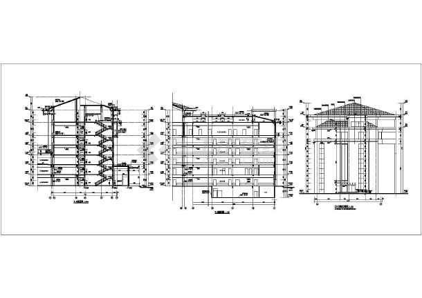 某地区六层手册图纸方案住院楼建筑设计学生医院室内设计框架校外实训结构图片