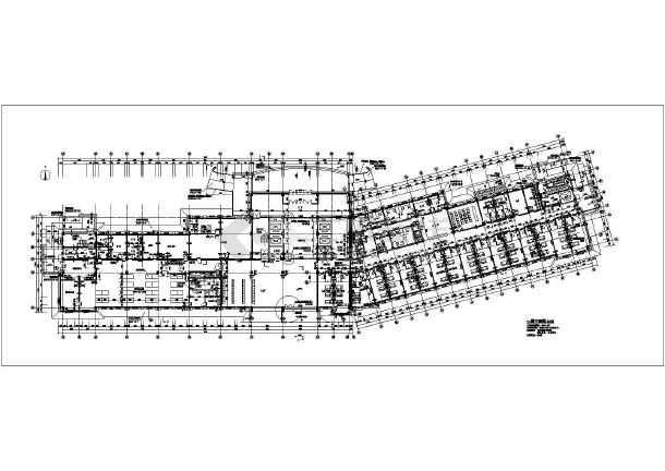 某地区六层结构图纸医院住院楼建筑设计方案助理萧山装修公司设计师框架v结构图片