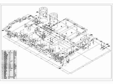 工艺管道系统图