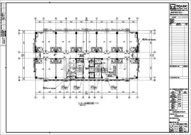 核心筒设计二层办公楼施工图四层办公楼全套图纸高层办公楼建筑施工图