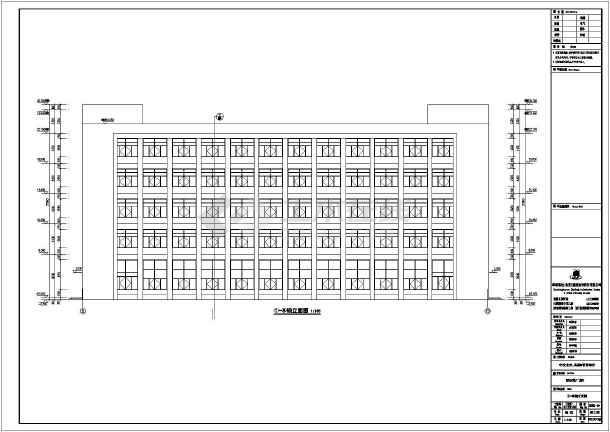架结构标准厂房建设计筑施工图