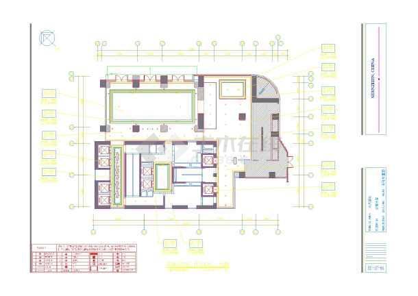 民居室内平面设计图展示