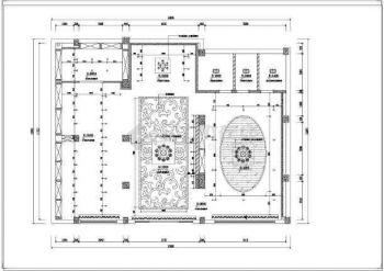 【红酒布置图】现代风格字体专卖店室内装修施平面替换图片
