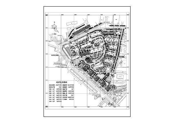 住宅小区建筑设计图